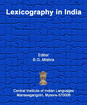 Lexicography in India