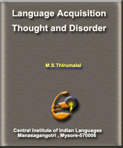 Language Aquisition Thought and Disorder